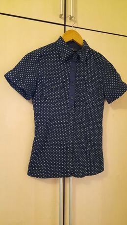 Продам блузу в горошок, розмір S