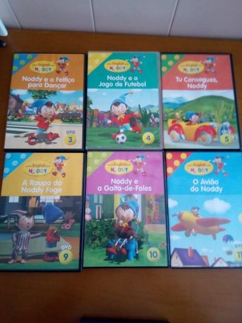 DVDs Animação Noddy