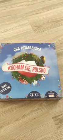 """Gra planszowa """"Kocham Cię Polsko"""""""