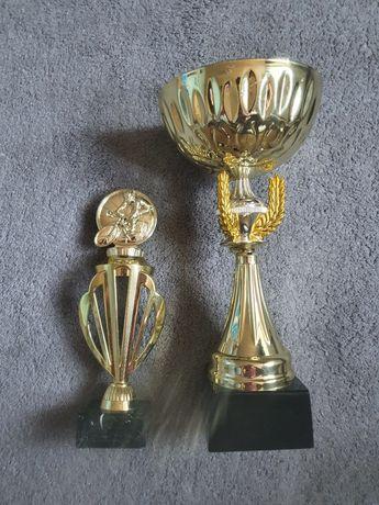 Dwa złote puchary za 1 miejsce