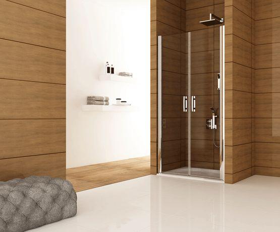 Душевые двери GRONIX® Pivot серия распашные от производителя