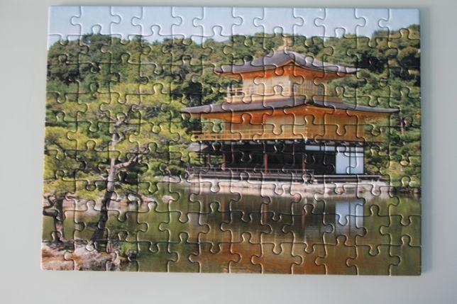 Puzzle templo japones