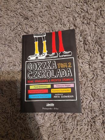 Książka,,Gorzka czekolada,, tom 2
