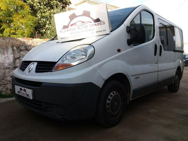 Renault Trafic 2.0 dCI 2007 ,Opel Vivaro 1.9 dCI 2004 Para Peças