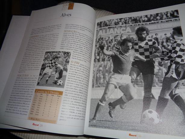 Livro Record 100 Melhores do Futebol Português