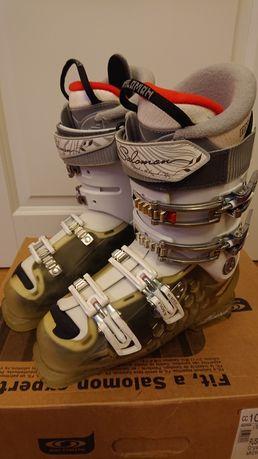Buty narciarskie. Salomon Rush X. Damskie. Rozmiar 39.5. Używane.