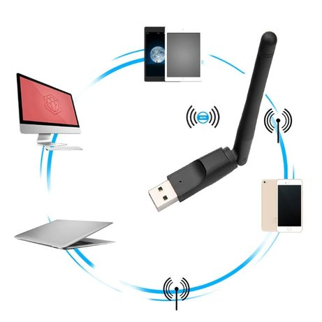 USB Wi-fi адаптер mt-7601 wifi Роутер Вайфай свисток 7601 T2-TV тюнер