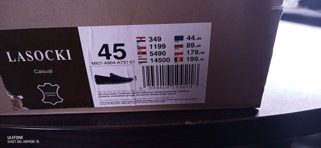 Nowe buty Lasocki 45r.