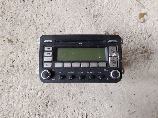 Radio passat   b6