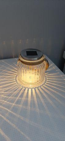 Светильник на солнечной батарее садовый светильник стеклянная банка