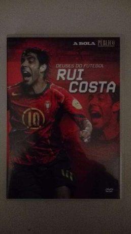 """DVD """" Deuses do Futebol - Rui Costa , O Maestro """" - Benfica, Portugal"""
