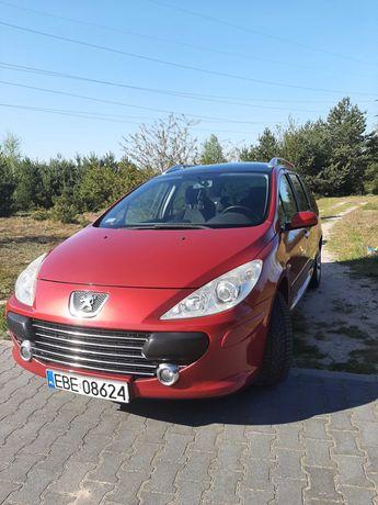 Peugeot 307 benzyna + LPG warto.