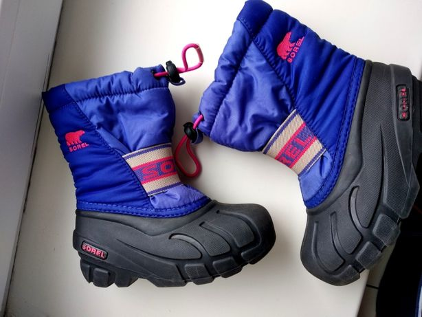 Сапоги ботинки Sorel 25-27 на ногу 15 см.