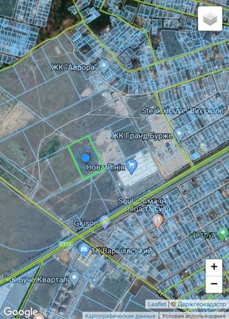 Буча продам земельну ділянку в межах міста
