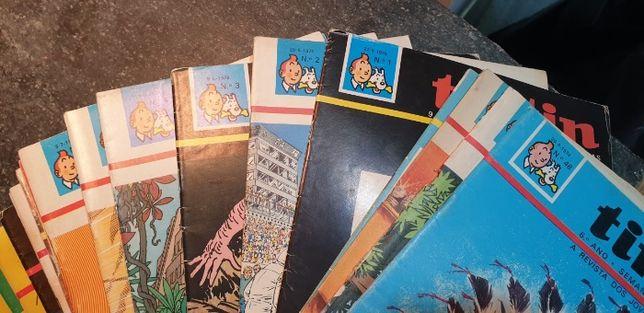 Revistas Tintin anos 74/75/76