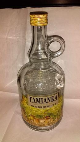Бутылка стекло с малой ручкоой 1 л эксклюзив.