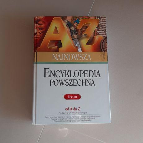 Książka encyklopedia powszechna liceum Greg