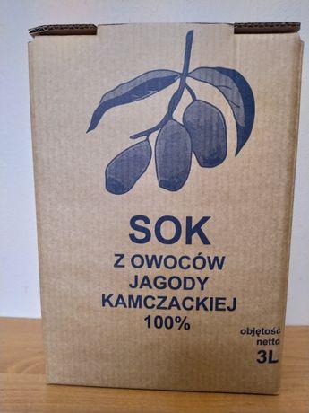 Sok 100% z Jagody kamczackiej 3L. Okazja Jagoda