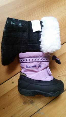 Buty dziecięce Kamik Goretex. Jak nowe.