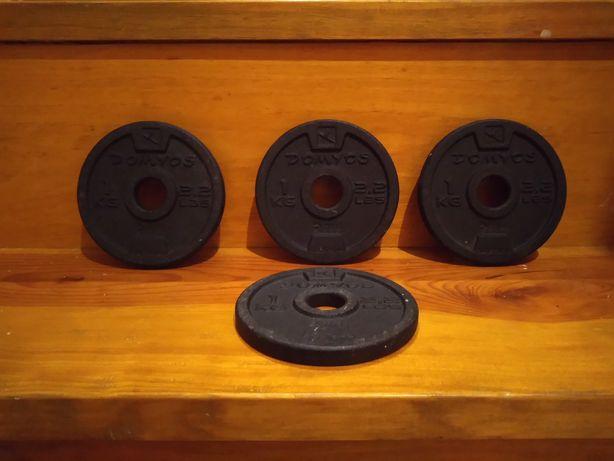 Discos / bumpers para halteres