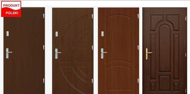 Drzwi zewnętrzne, wejściowe do mieszkania z Montażem i Gwarancją!