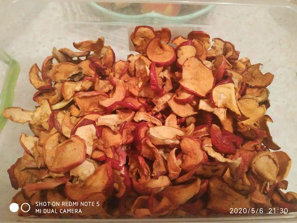 Сухофрукты яблоки для компота