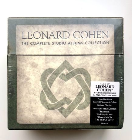 Leonard Cohen's The Complete Studio Albums Collection 15 cd Box Set