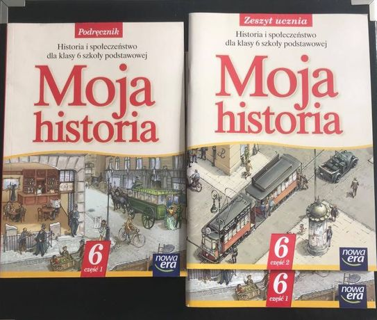 Nowa Era Moja historia 6 podręcznik i 2 x ćwiczenia