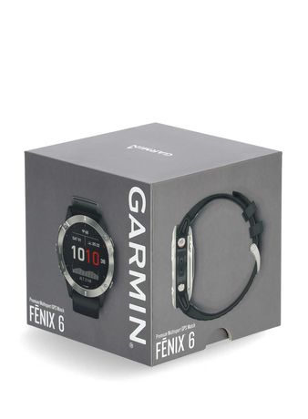 GARMIN Fenix 6 47mm Silver/Black Telakces.com Galeria Łódzka