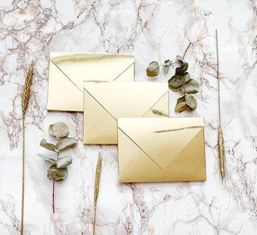 Золотисті запрошення, сертифікати