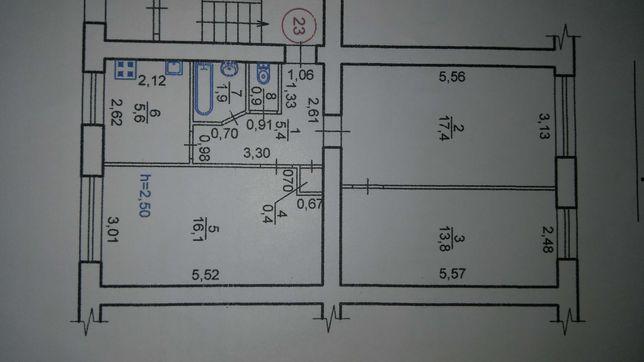 Продаж 3-кімн кварт Скорини
