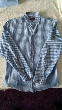 Koszula męska Zara, kratka jak nowa