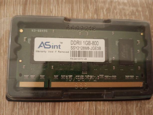 Ram do laptopa ASint DDR II 1 GB