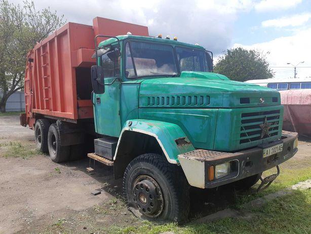 КРАЗ 6443 мусоровоз