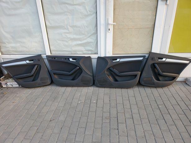 Обшивки, карточки двери, руль Audi А4 В8, Ауди А4 В8.