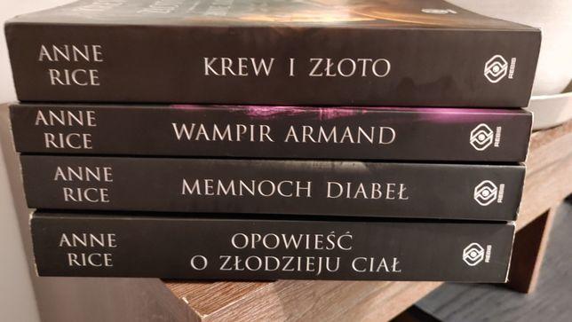 Anne Rice: Opowiesc O Zlodzieju Cial Memnoch Diabel Wampir Armand Krew