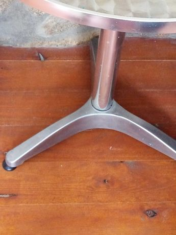 Mesa em Inox para varanda ou jardim