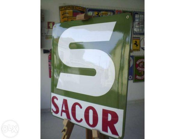Placa Esmaltada Sacor