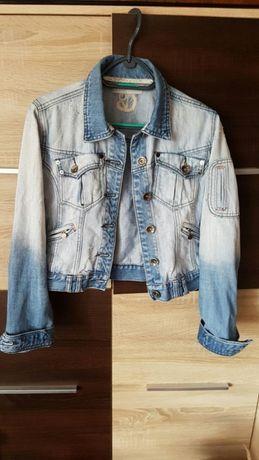 Crafted Katana kurtka narzuta dżinsowa jeansowa przecierana 10 38