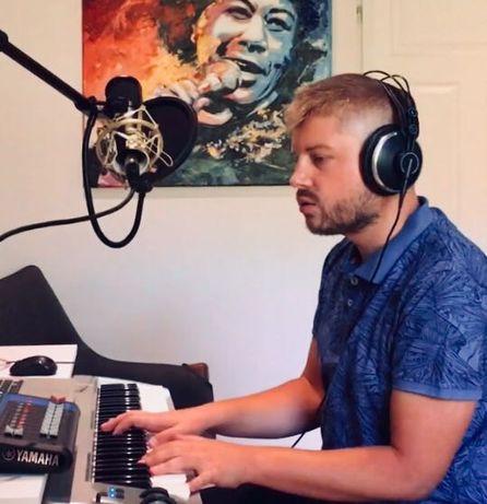 Nauka gry na pianinie/keyboardzie, lekcje muzyki