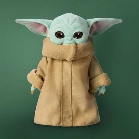 Мягкая игрушка Мандалорец Малыш Йода - Грогу / Baby Yoda Grogu