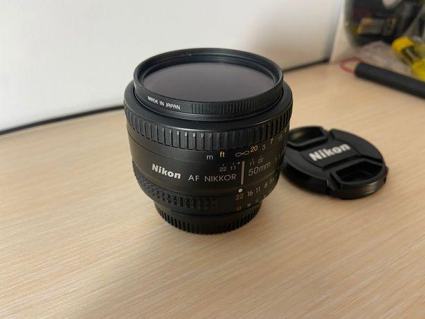 Об'єктив Nikon AF NIKKOR 50mm 1:1.8 D