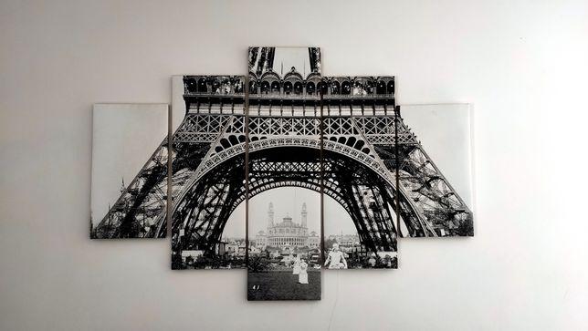 """Obraz """"Wieża Eiffla"""" wymiary 105x160"""
