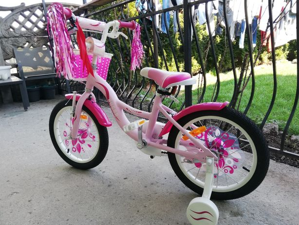Rower dla Dziewczynki koła 16 cali Nowy
