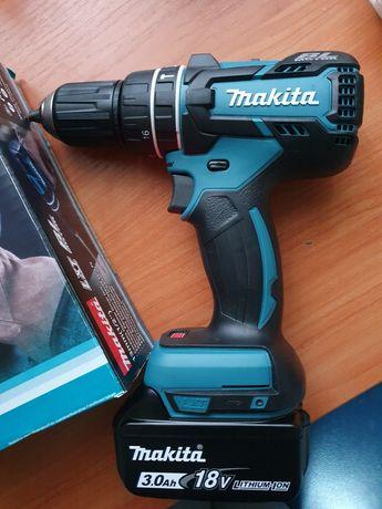 Zestaw Makita wkrętarka, bateria, ładowarka nowe