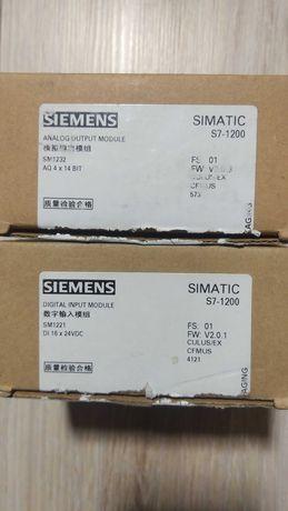 SIMATIC S7-1200 Модуль аналогового виводу, SM 1232.