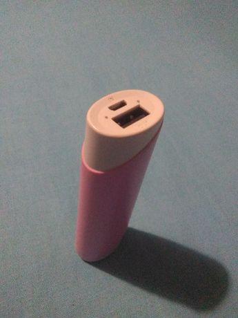 Powerbank różowy 2300 mAh