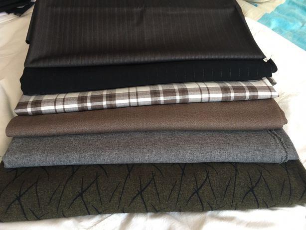 Отрезы ткани (костюмной)