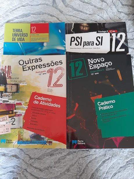 Cadernos de atividades 12 ano