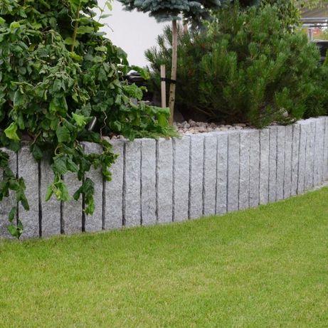 GRANIT, palisada granitowa, architektura ogrodowa, kamień do ogrodu!